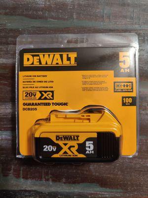 DCB205 DeWalt 5.0ah battery for Sale in Elkton, VA