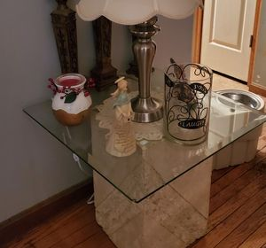 Glass end table, coffee table and console table for Sale in Alexandria, KY