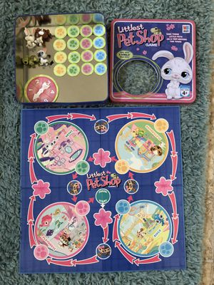 Toddler preschool Littlest Pet Shop board game ages 4+ years for Sale in Wellington, FL