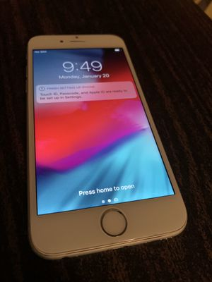 iPhone 6 regular 64 gb AT&T and cricket for Sale in Los Angeles, CA
