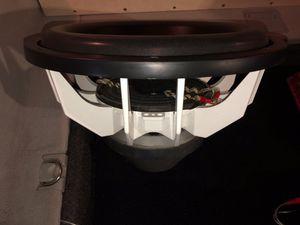 """FI Car Audio Q 15"""" Subwoofer Single 1 Ohm for Sale in Phoenix, AZ"""