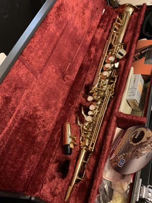 Yamaha soprano saxophone. Mint condition. for Sale in Tempe, AZ