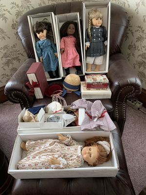 Original American Dolls, accessories, books, trading cards for Sale in Arlington, WA