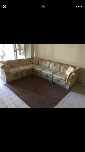 Multi function couch - each piece individually wrapped- can be used as accent chairs for Sale in Scottsdale, AZ
