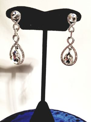 CZ white dropped fashion earring for Sale in Martinsburg, WV
