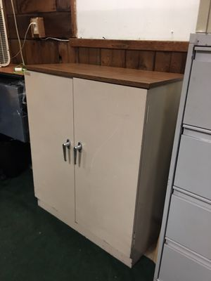 "Storage Cabinet. Double door 36"" wide 41"" Height 18"" Depth for Sale in Tampa, FL"