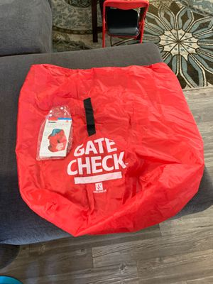 Gate check car seat travel bag for Sale in San Diego, CA