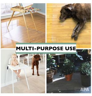 non-slip multi-purpose floor mat (transparent) for Sale in Rancho Cucamonga, CA