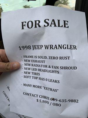 Jeep Wrangler for Sale in Hamilton Township, NJ
