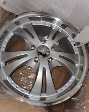 17in rims brand new never used and tires for Sale in Brooklyn, NY