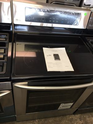 """BRAND NEW SCRATCH DENT 30""""LG GLASSTOP STAINLESS RANGE WARRANTY DELIVERY for Sale in Purcellville, VA"""