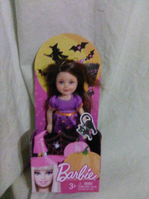 Barbie Halloween Chelsea doll with cat for Sale in Buena Park, CA