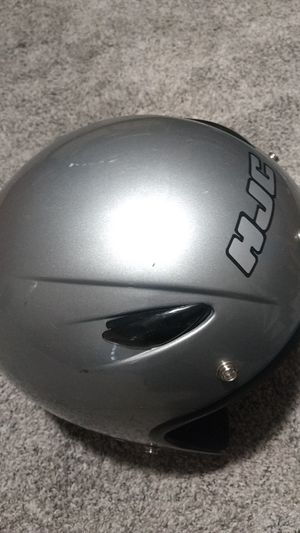 Silver Motorbike helmet medium size for Sale in Beaverton, OR
