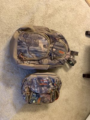 Red Head Hunting Combo, Back Pack and Fanny Pack for Sale in Virginia Beach, VA