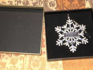 """Cirque Du Soleil's """"Crystal"""" snowflake boutique ornament for Sale in Silver Spring, MD"""