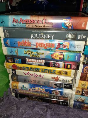 Disney VHS MOVIES for Sale in Brookneal, VA