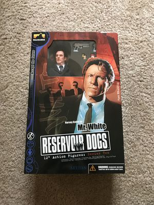 Reservoir Dogs 12 inch Action Figure. Mr. White. **RARE** for Sale in Morrisville, NC