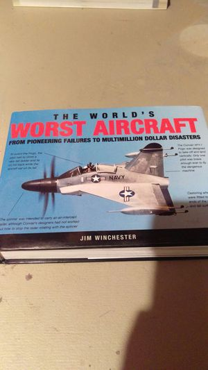 The world's worst aircraft book for Sale in Appleton, WI
