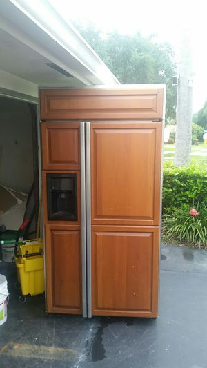 REFRIGERATOR GE Monogram built in depth for Sale in Sebring, FL