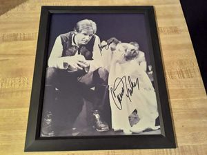 Star wars framed 8X10 inch PROFESSIONAL REPRINTED AUTOGRAPH $15 for Sale in San Angelo, TX