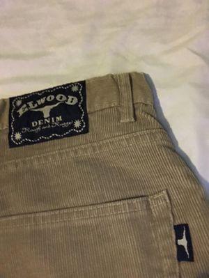 Elwood Denim Corduroy Pants Size 36. for Sale in Hawthorne, CA