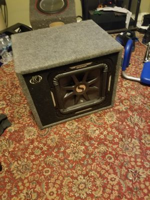 kicker l7 dual 4 ohm 1500 watts for Sale in Adelphi, MD