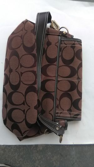 Brown tan Coach purse for Sale in N BELLE VRN, PA