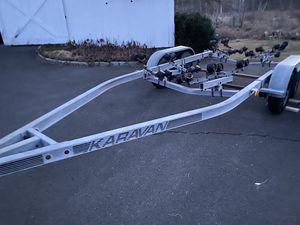 Boat trailer dual axle for Sale in New Milford, CT