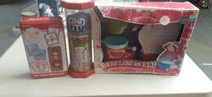 Elf on shelf games & stuffed animals for Sale in Las Vegas, NV