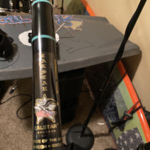 9ft Cal star Jig Stick With Accurate Tern 600 Narrow Brand New Setup Never Seen The Water for Sale in Cypress, CA