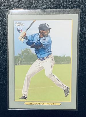 🔥2020 Topps Baseball TB Rays Randy Arozarena Insert RC! for Sale in Houston, TX