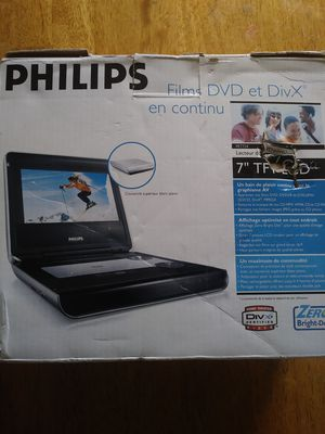 Philips Portable DVD Player for Sale in Richardson, TX