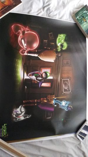 "Luigi's Mansion Dark Moon poster (22"" x 28"") for Sale in Chula Vista, CA"
