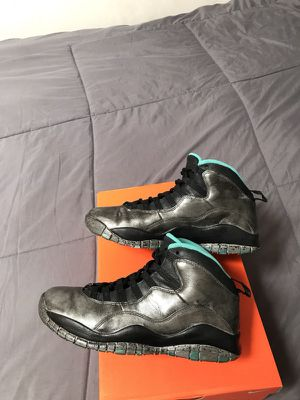 Nike air Jordan 10 X lady liberty mens size 7.5 basketball shoes $190! for Sale in San Diego, CA