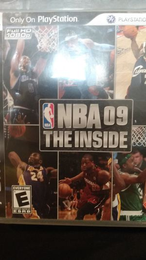 NBA 09 the inside for Sale in Detroit, MI