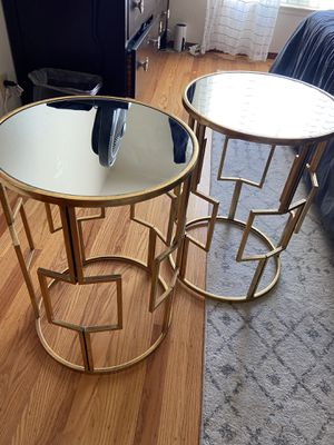 Gold mirror tables for Sale in San Francisco, CA