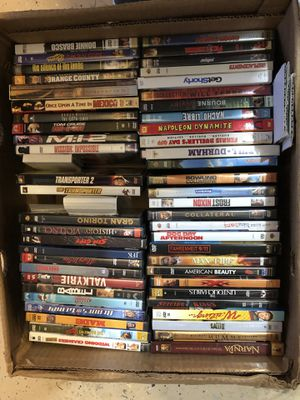 Over 400 movies on dvd and blue ray, unopened & Entire tv serious/ movies bundles, All prices are negotiable for Sale in Walnut Creek, CA
