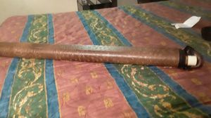 Panther cue stick with ostrich skin case for Sale in Beaumont, TX
