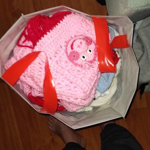 Bag With Girls Scarfs And Sweaters Size 4t5t for Sale in San Jose, CA