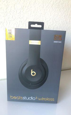 Beats Studio 3 Wireless Headphones (Skyline Edition) for Sale in San Diego, CA