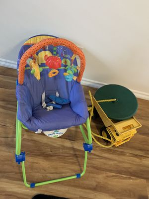 Bundle- kid chair, swing, dump truck for Sale in Portland, OR