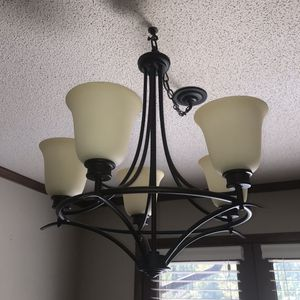 Chandelier light fixture for Sale in Holly Springs, NC