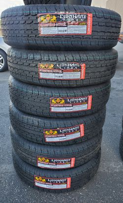ST225 75 15 TRAILER TIRES 10PLY LOAD RANGE E for Sale in Rancho Cucamonga,  CA