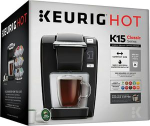 Keurig K-Mini K15 Single-Serve K-Cup Pod Coffee Maker, Black for Sale in New York, NY