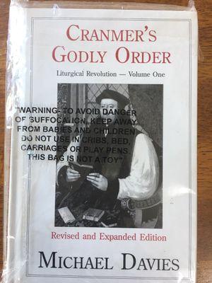 Cranmer's Godly Order for Sale in Dallas, GA