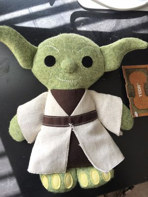 Yoda plushie from Disneyland for Sale in Los Angeles, CA