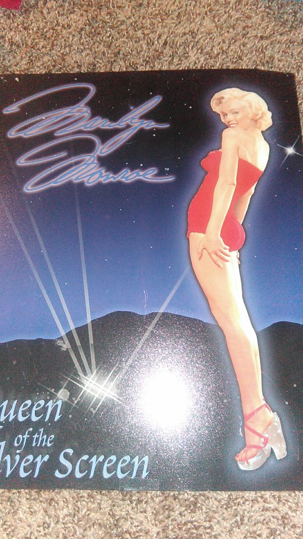 Marilyn Monroe poster Queen of the sliver screen