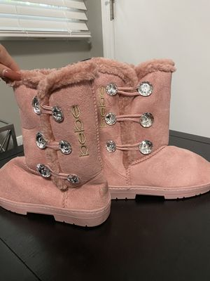 Bebe kids pink snow boots for Sale in Gallatin, TN