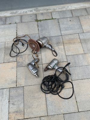 Vintage power tools - $5 for Sale in San Marcos, CA