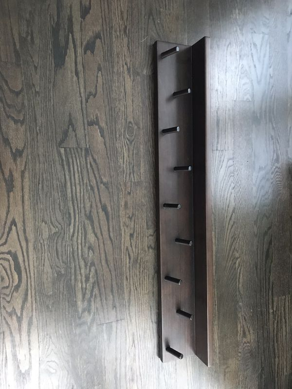 Crate & Barrel Andes Coat Rack